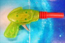 Space Gun - Sparkling Toy - Transparent Super Ray Gun