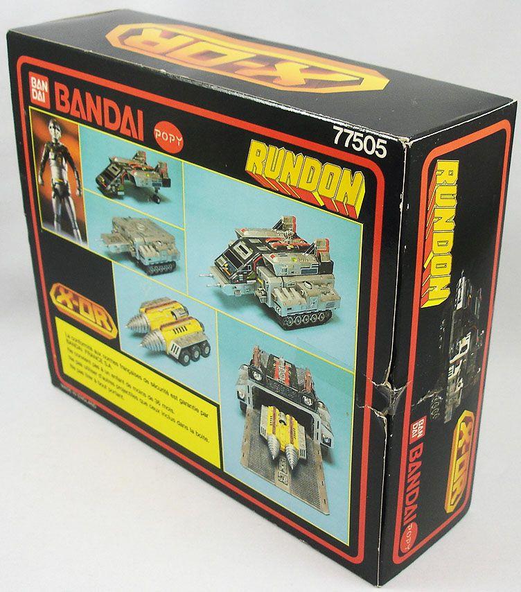 Space Sheriff Gavan X-Or - Gavion Tank Rundon - Popy Bandai France