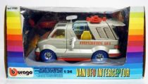 Space Toys - Burago - Van UFO Interceptor Scale 1:24 (Mint in Box)