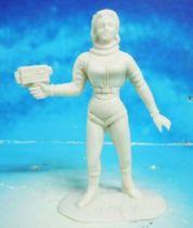 Space Toys - Comansi Figurines Plastiques - OVNI 2022: Femme de l\'Espace (blanc)