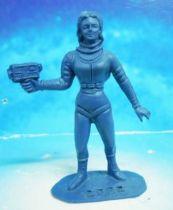 Space Toys - Comansi Figurines Plastiques - OVNI 2022: Femme de l\'Espace (bleu)