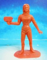 Space Toys - Comansi Figurines Plastiques - OVNI 2022: Femme de l\'Espace (rouge)