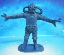 Space Toys - Comansi Plastic Figures - Alien #1 (blue)