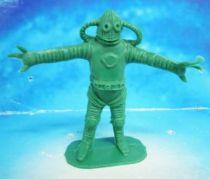 Space Toys - Comansi Plastic Figures - Alien #1 (green)