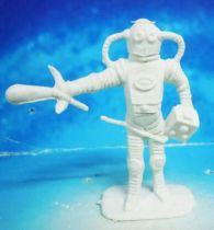 Space Toys - Comansi Plastic Figures - Alien #2 (white)