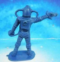Space Toys - Comansi Plastic Figures - Alien #3 (blue)