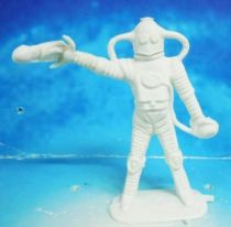 Space Toys - Comansi Plastic Figures - Alien #3 (white)