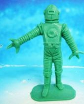 Space Toys - Comansi Plastic Figures - Alien #4 (green)