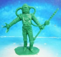 Space Toys - Comansi Plastic Figures - Alien #5 (green)