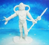 Space Toys - Comansi Plastic Figures - Alien #5 (white)