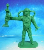 Space Toys - Comansi Plastic Figures - Alien #6 (green)