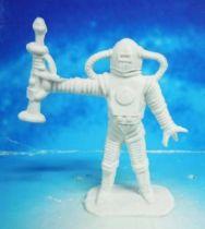 Space Toys - Comansi Plastic Figures - Alien #6 (white)