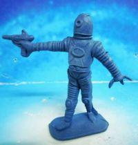 Space Toys - Comansi Plastic Figures - Alien #7 (blue)
