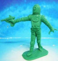 Space Toys - Comansi Plastic Figures - Alien #7 (green)