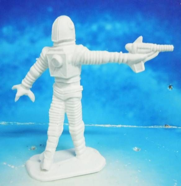 Space Toys - Comansi Plastic Figures - Alien #7 (white)