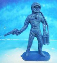 Space Toys - Comansi Plastic Figures - Astronaut #1 (blue)