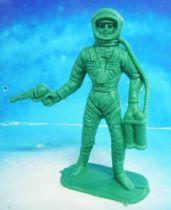 Space Toys - Comansi Plastic Figures - Astronaut #1 (green)