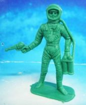 Space Toys - Comansi Plastic Figures - Astronaut #1 (green)
