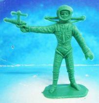 Space Toys - Comansi Plastic Figures - Astronaut #4 (green)