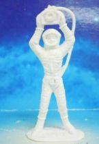 Space Toys - Comansi Plastic Figures - OVNI 2004: Astronaut (white)