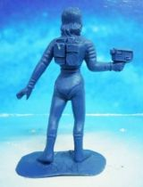 Space Toys - Comansi Plastic Figures - OVNI 2022: Space Woman (blue)