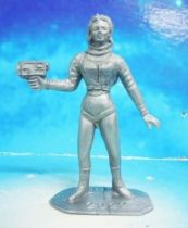 Space Toys - Comansi Plastic Figures - OVNI 2022: Space Woman (grey)