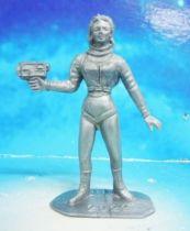 Space Toys - Comansi Plastic Figures - OVNI 2022: Space Woman (grey)