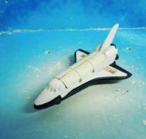 Space Toys - Corgi Junior Vintage - Columbia - SpaceShuttle (Ref.5) Loose