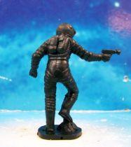Space Toys - Figurines Plastiques - Cosmonaute pied droit sur rocher & spacegun (Bonux couleur noire) 02