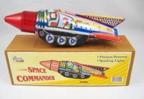 Space Toys - Friction Powered Tin Toy - Ship Commander (Tin Treasures)
