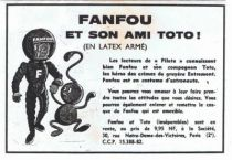Space Toys - Latex Figures - Fanfou & Toto (Pilote/Entremont)