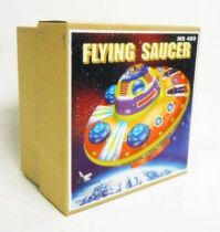 Space Toys - Mechanical Tin Toy - Flying Saucer