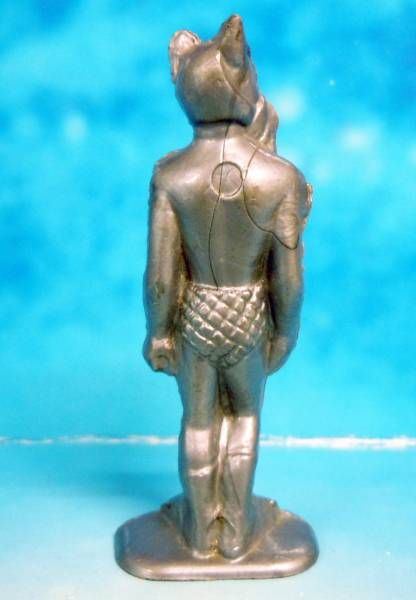 Space Toys - Plastic Figures - Captain Video\\\'s Alien (silver) Lido Toy