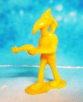 Space Toys - Plastic Figures - Captain Video\\\'s Alien (yellow) Lido Toy
