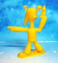 Space Toys - Plastic Figures - Captain Video\\\'s Alien Leader (yellow) Lido Toy