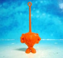 Space Toys - Plastic Figures - Cereal Premium Aliens (hysterical orange)
