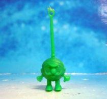 Space Toys - Plastic Figures - Cereal Premium Aliens (moustache green)