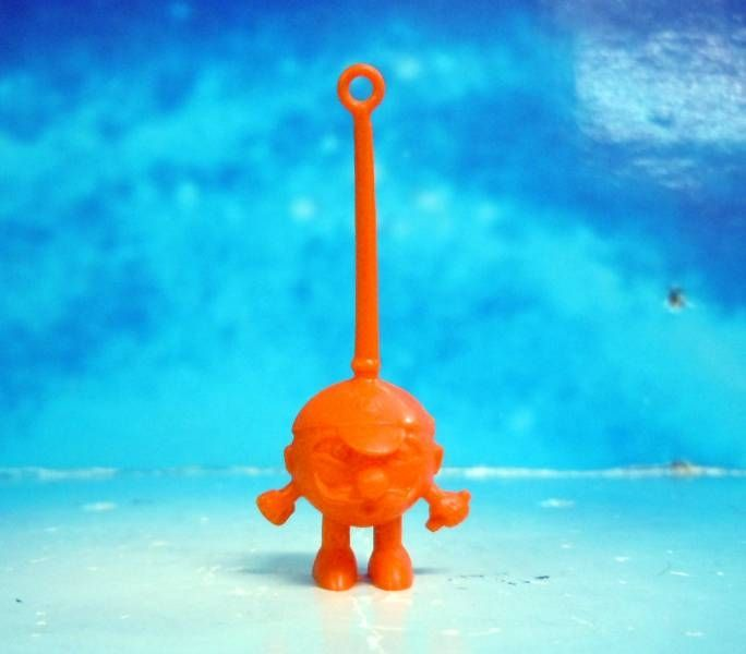 Space Toys - Plastic Figures - Cereal Premium Aliens (moustache orange)