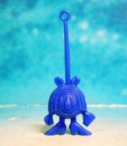 Space Toys - Plastic Figures - Cereal Premium Aliens (woman blue)