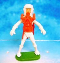 Space Toys - Plastic Figures - Cherilea Spacemen (White & Red)