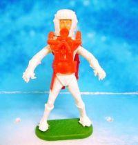 Space Toys - Plastic Figures - Cherilea Spacemen (White & Red)