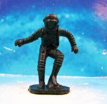 Space Toys - Figurines Plastiques - Cosmonaute pied gauche sur rocher (Bonux couleur noire) 01