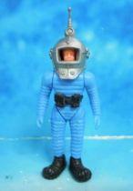 Space Toys - Plastic Figures - Ferrero Spacemen (Blue)