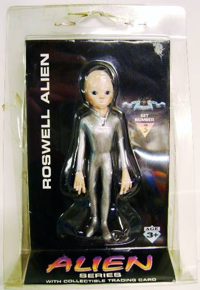 Space Toys - Plastic Figures - Roswell Alien (Myth & Legends Miniatures Set #3)