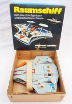 Space Toys - Quelle International - Spacecraft with Rocket Launcher (Raumschiff) Mint in Box