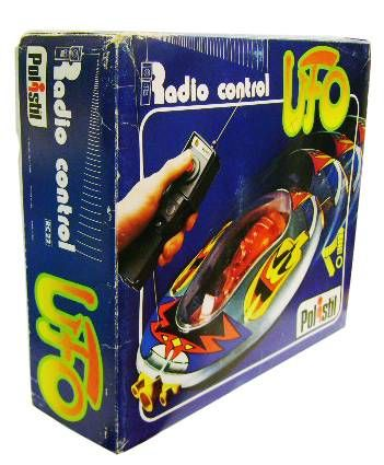 Space Toys - Radio Control Vehicle - UFO (Polistil)