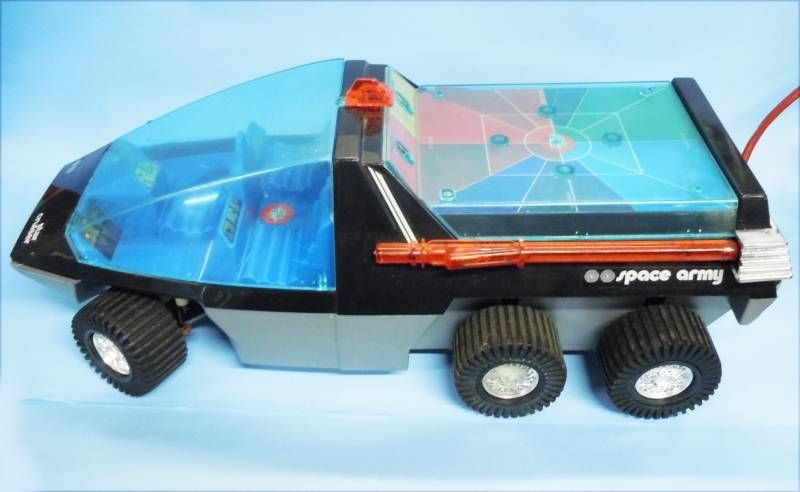 Space Toys - Remote Control Vehicle - Star Cruiser  (RE.EL Toys)