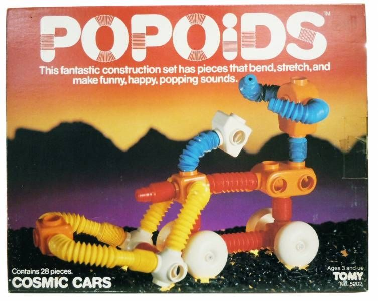 Space Toys - Tomy - Popoids: Cosmic Cars