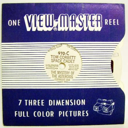 Space Toys - View Master - Tom Corbett Space Cadet