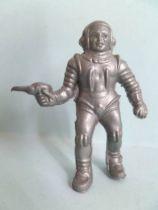 Space Toys - Vintage Plastic Figures - Cosmonaut with spacegun (Captain Video))